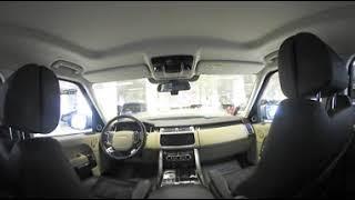 Land Rover Range Rover: обзор салона в формате 360 градусов