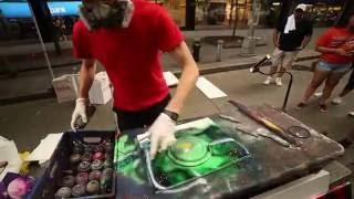 Spray Painting in New York