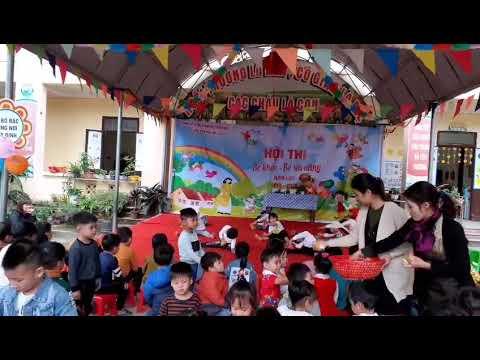 Văn nghệ của trẻ 4- 5 tuổi tham gia hội thi bé khỏe- bé tài năng