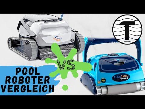 Vergleich Dolphin Poolstyle Plus vs. POOLSANA Pro | Poolroboter Vergleich | Poolroboter test