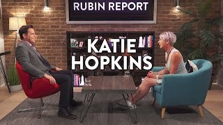 Katie Hopkins and Dave Rubin: Identity Politics, Islam, and Hate Speech (Full Interview)