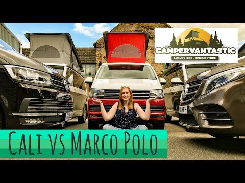 Mercedes Benz Marco Polo hire in London | CamperVantastic