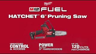 Milwaukee® M12 FUEL™ HATCHET™ 6 Pruning Saw