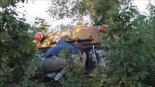 #12 Abandoned 1940s motor home RV Camper