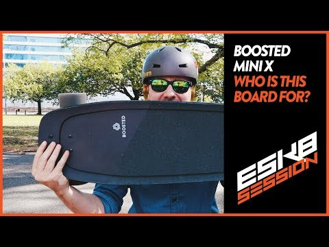 BOOSTED MINI X – DOES IT STACK UP? ELECTRIC SKATEBOARD REVIEW