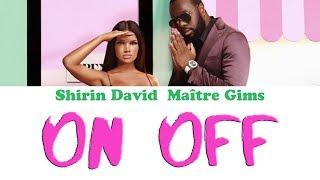 Shirin David   On Off | Karaoke, Instrumental With Lyrics (feat GIMS)