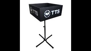 TTS подставка для мячей и полотенец дерево