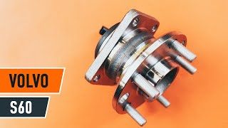 How To Replace Front Wheel Bearing On VOLVO S60 TUTORIAL | AUTODOC