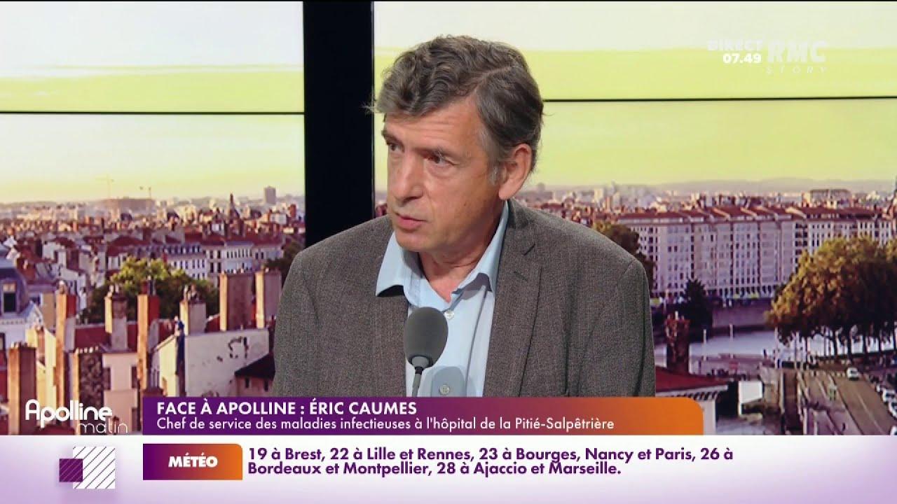 """Eric Caumes : """"Le virus ne va pas disparaître, on va vivre avec pour toujours."""""""
