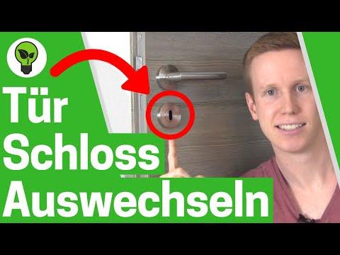 Zimmertürschloss Auswechseln ✅ ULTIMATIVE ANLEITUNG: Wie Türschloss Ausbauen & Türklinke Wechseln???