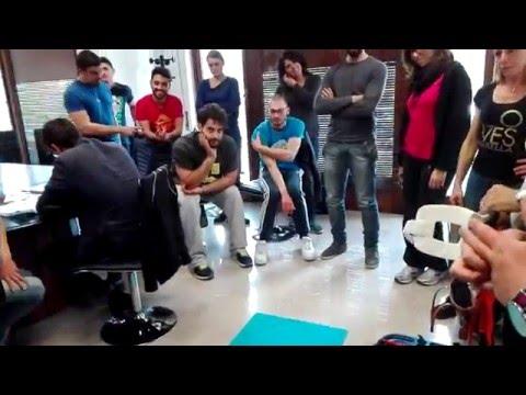 Trattamento physio di ginocchio