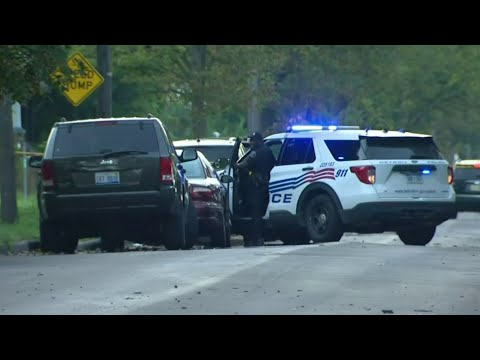 Man killed, woman injured in shooting and crash on Detroit's east side