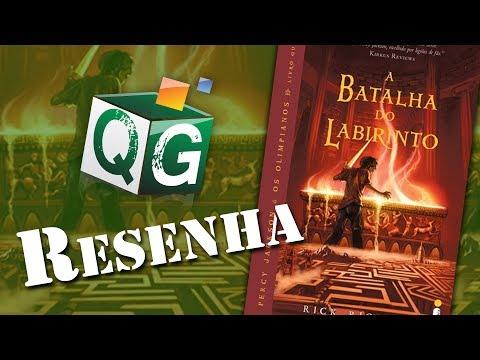 Resenha: Percy Jackson e A Batalha do Labirinto