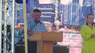 Агитация в Вольске в День строителя