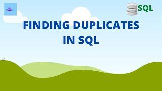 Finding Duplicate Records In SQL 2020   SQL Tutorial 2020