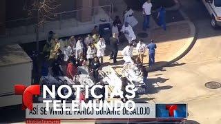 Pánico en Houston por disparos en un hospital | Noticiero | Noticias Telemundo
