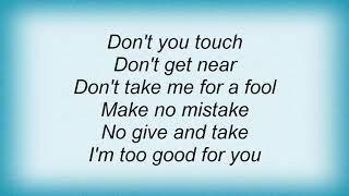 Judas Priest - Private Property Lyrics