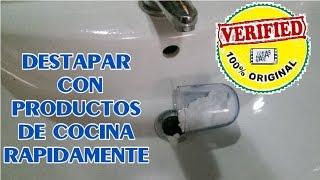 Como Destapar Un Lavabo Con Bicarbonato Free Video Search Site