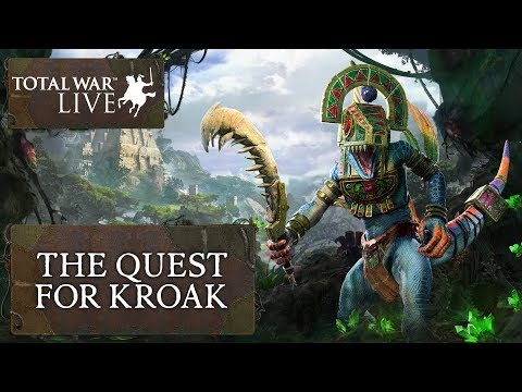 The Quest for Kroak - Total War: WARHAMMER II - The Prophet & The Warlock