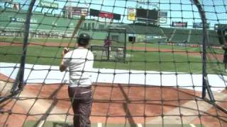 Jeffrey Donovan - Fenway Park - 04.07.2010