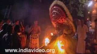 Theyyam performance