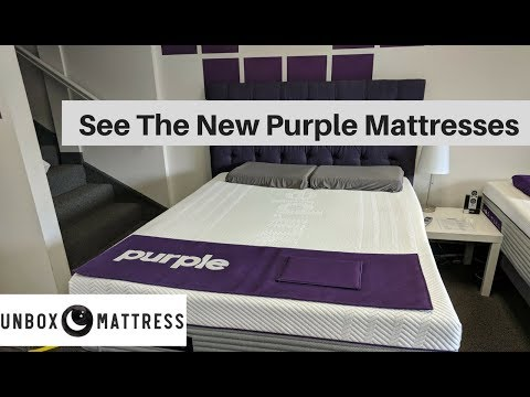 The New Purple Mattress –  See All 3 New Purple Beds!