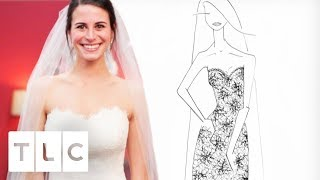Heidi Designs Mary Margret Lace Dress To Play Tribute To Brides Aunt | Bride By Design