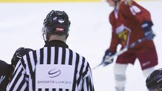 Latvijas karavīri hokeja draudzības spēlē tiekas ar Kanādas vadītās kaujas grupas karavīriem