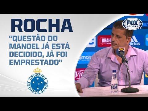 CRUZEIRO AO VIVO! Veja entrevista coletiva de Carlos Ferreira Rocha direto da Toca da Raposa