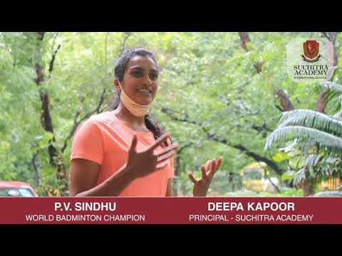 Interview with P.V. Sindhu, Suchitra 'FitKid' Fitness Program