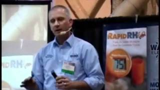 Measuring Wood Moisture Demo at Surfaces Show 2011