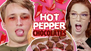 Hot Pepper Valentine's Day Chocolate | Mario & Sonic at the Olympics