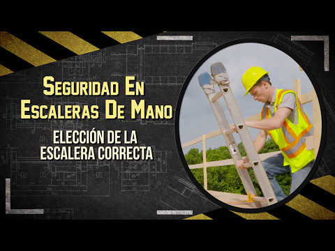 Seguridad En Escaleras De Mano (Ladder Safety in Spanish)