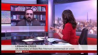 Interview on Saad Hariri - Dr H.A Hellyer - BBC World News - US Bkfast/Europe Lunch