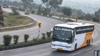 Scania bus climbing on ghat roads Amazing ride!!! in India