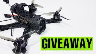 5 inch FPV Quad GIVEAWAY. The Unmanned Tech FPV Source Freestyle Quadcopter Kit