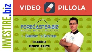 "Video pillole ""Forecaster + Cherry's System LIVE"""