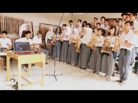 """Rather Be - Clean Bandit Ft. Jess Glynne"" (Angklung Cover) - KelasMusik19 Mp3"