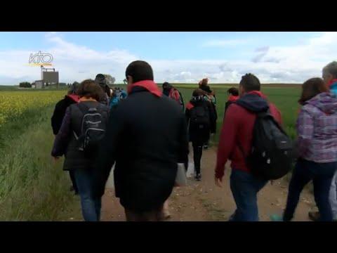 En route vers Ars : Des paroisses marchent pour les vocations