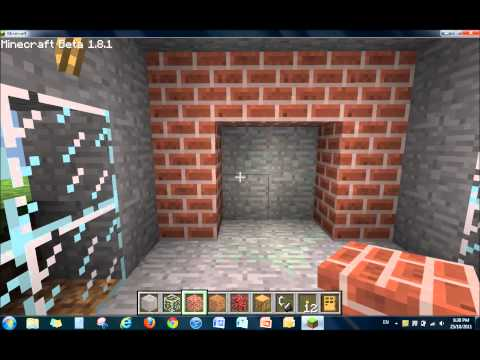 How to Make a Fireplace on Minecraft