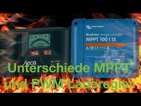 Unterschiede MPPT und PWM Laderegler