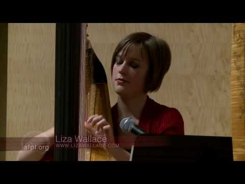 """Solo performance of an original arrangement of the Venezuelan Song """"Quitapesares"""" at the San Francisco Library."""
