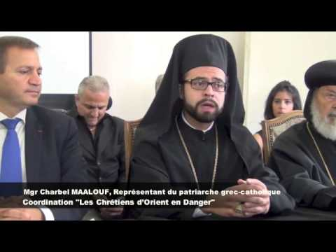 Mgr Gémayel et Mgr Maalouf