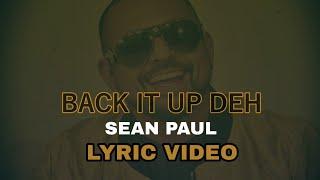 Musik-Video-Miniaturansicht zu Back It Up Deh Songtext von Sean Paul