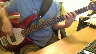 Descendents - Jealous Of The World Bass Cover
