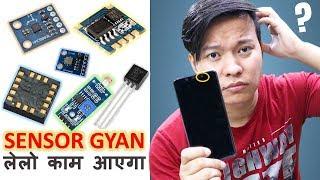 Smartphone Sensor Gyan - Gyroscope, Proximity, Barometer, Magnetometer,Light Sensor .. Explained