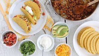 Simple Ground Turkey Tacos- Everyday Food With Sarah Carey