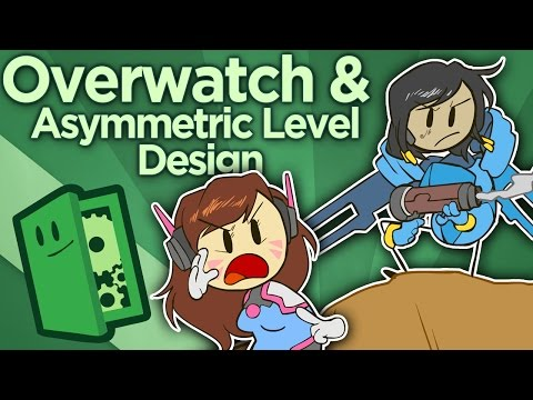 Overwatch and Asymmetric Level Design - What Makes the Maps Fun? - Extra Credits