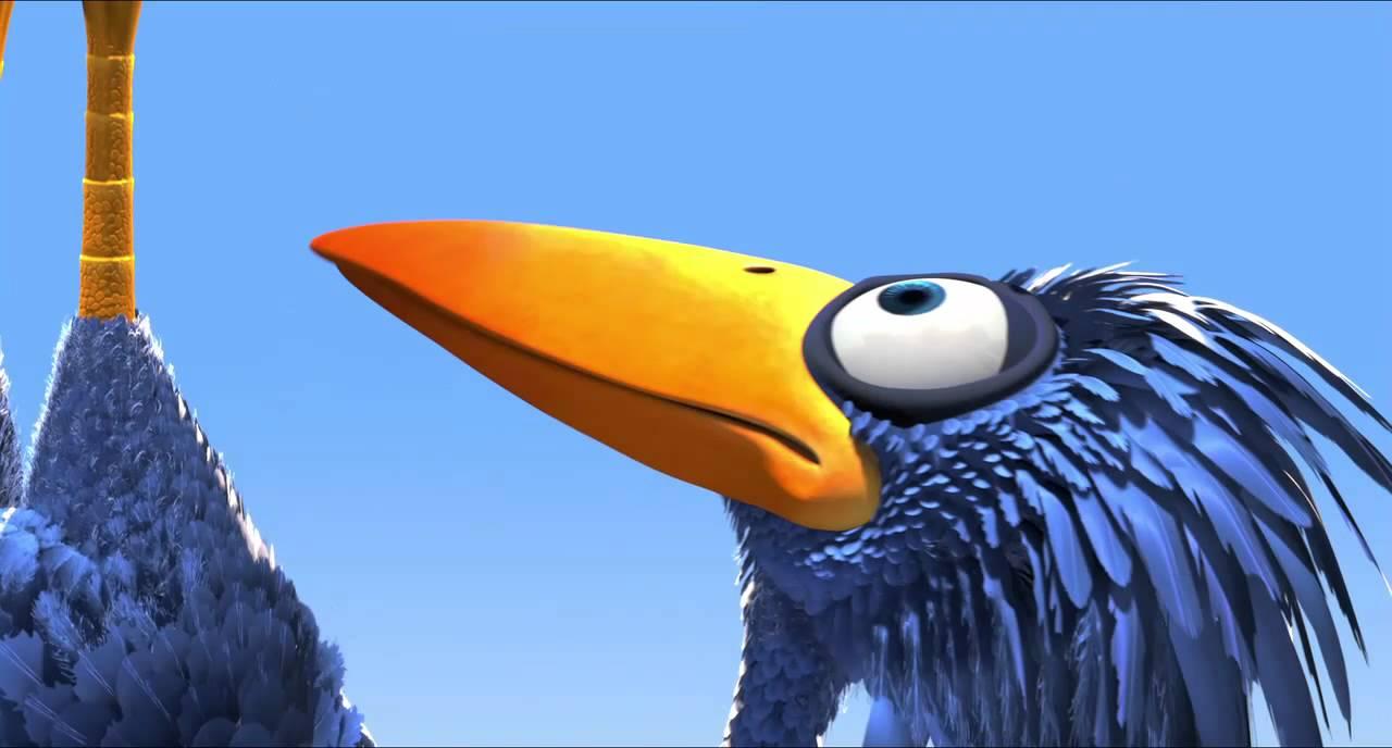 Птички от студии Pixar