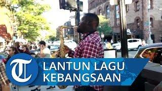 Aksi Musisi Jalanan Melantunkan Lagu Indonesia Raya di Amerika, 'Kita Jaga Alam, Alam Jaga Kita'